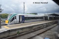 22002 at Heuston, 24/5/19 (hurricanemk1c) Tags: railways railway train trains irish rail irishrail iarnród éireann iarnródéireann dublin heuston 2019 22000 rotem icr rok 3pce 22002 1730heustongalway