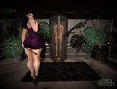Madame's Most Prized Possession 💋 (Short Leash // original mesh & virtual kink) Tags: shortleash secondlife rlv display forniphilia furniture decor mistress master submissive bdsm femdom maledom