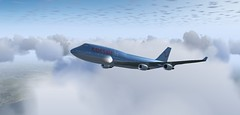 747-400 CRL (gabriel.vianablanco) Tags: 747400 747 boeing corsair tenerife airport