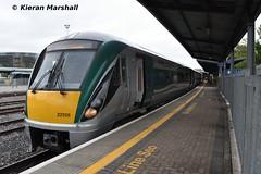 22009 at Heuston, 31/5/19 (hurricanemk1c) Tags: railways railway train trains irish rail irishrail iarnród éireann iarnródéireann dublin heuston 2019 22000 rotem icr rok 3pce 22009 1732heustonportlaoise