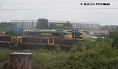 66550 and 66547 at Crewe Basford Hall, 8/6/19 (hurricanemk1c) Tags: railways railway train trains networkrail 2019 crewe crewebasfordhall freightliner generalmotors gm emd class66 class665 fred shed 66550 66547
