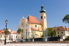 133/365 (misa_metz) Tags: nikon colors color city cityscape church photo photography hungary győr sigma sky bluesky blue building buildings holiday summer place outdoor