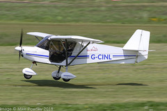 G-CINL - 2015 build Best Off Skyranger Swift, arriving on Runway 26L at Barton (egcc) Tags: bmaahb647 barton bestoff ctckingshurstacademy cityairport egcb gcinl homebuilt lightroom manchester microlight richardson skyranger swift
