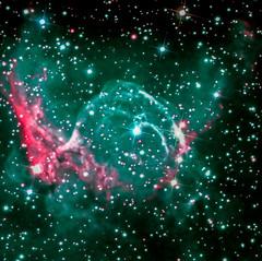"NGC 2359 ""Thor's Helmet"" (Mary McIntyre nee Spicer) Tags: ncg2359 thorshelmetnebula nebula faulkestelescope emissionnebula"