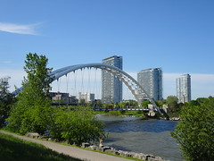 side view of the Humber Bay Arch Bridge (Trinimusic2008 -blessings) Tags: trinimusic2008 judymeikle nature toronto to ontario canada wethenorth nbafinals raptors sonydschx80 june 2019 spring