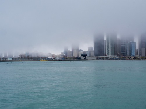 Chicago in the Mist