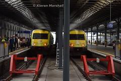 Mark 4's at Heuston, 27/5/19 (hurricanemk1c) Tags: railways railway train trains irish rail irishrail iarnród éireann iarnródéireann dublin heuston 2019 caf mark4 intercity