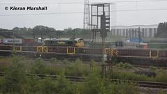 66553 at Crewe Basford Hall, 8/6/19 (hurricanemk1c) Tags: railways railway train trains networkrail 2019 crewe crewebasfordhall freightliner generalmotors gm emd class66 class665 fred shed 66553
