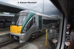 22047 at Heuston, 24/5/19 (hurricanemk1c) Tags: railways railway train trains irish rail irishrail iarnród éireann iarnródéireann dublin heuston 2019 22000 rotem icr rok 3pce 22047 1732heustonportlaoise