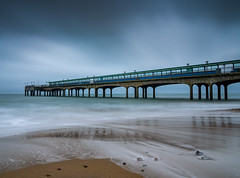 Boscombe Pier (Anthony White) Tags: bournemouth england unitedkingdom firecrest 10stopultra beach sand longexposure nopeople holiday holidaydestination dorset gb uk visitengland