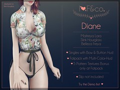 Diane (Ainadara Resident) Tags: i3f i3fco maitreya fashion original mesh event exclusive slink hourglass belleza freya blouse top bow buttons access