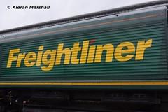 66503 at Crewe Diesel Depot, 8/6/19 (hurricanemk1c) Tags: railways railway train trains networkrail 2019 crewe crewedieseldepot allchangeopenday lsl locomotiveserviceslimited openday generalmotors gm emd class66 class665 fred shed freightliner 66503