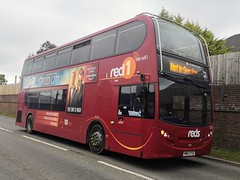 Salisbury Reds 1573 is on St George's Way after completing the first of five days on Isle of Wight Festival Shuttles. - HW63 FGO - 13th June 2019 (Aaron Rhys Knight) Tags: