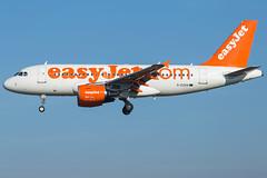 easyJet A319-111 G-EZAN (wapo84) Tags: lebl bcn a319 gezan easyjet