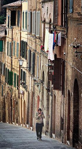 In Siena, Italy