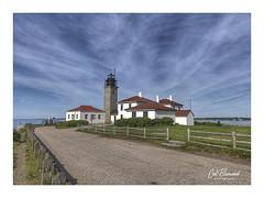 Beavertail Lighthouse (windshadow2) Tags: jamestown rhodeisland unitedstatesofamerica iphone8plus lighthouse usa ri