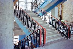 Colorful stairways (titan3025) Tags: leica leicam6 m6 kodak ultramax 400 kiev 2019