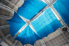 Blue is the motto of the roof (titan3025) Tags: leica leicam6 m6 kodak ultramax 400 kiev 2019