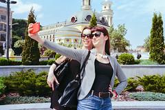 Selfie time (titan3025) Tags: leica leicam6 m6 kodak ultramax 400 kiev 2019