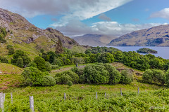 Former village of Brinacory on Loch Morar. (Scotland by NJC.) Tags: lakes lochs reservoirs waters meres tarns ponds pool lagoon lago 湖 jezero sø meer järvi lac see λίμνη 호수 innsjø jezioro озеро peaceful calm still quiet serene undisturbed gentle pleasant soothing tranquil placid restful pacífico 和平的 miran fredelig vredig rauhallinen paisible friedlich ειρηνικόσ 平和な 평화로운 remote distant isolated inaccessible farflung secluded outoftheway faraway outlying wild unspoiled natural remoto 遥远的 udaljen odlehlý fjern ver kaukainen lointain lochmorar brinacory westernhighlands scotland