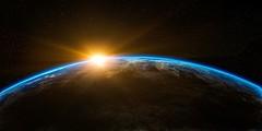 sunrise-16042019 (falconbonkers) Tags: sunrise space outerspace globe world earth flare