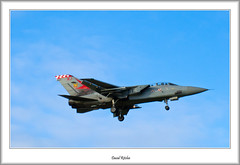 ZG772 56 Sqn 'Firebird'  Tornado F3 (flatfoot471) Tags: 2008 aircraft february military normal panavia royalairforce scotland tornado unitedkingdom leuchars fife