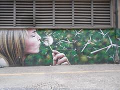 wind (lfvxqvtx49) Tags: women turbines flowers