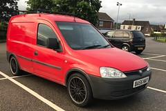 (Sam Tait) Tags: red modified van custom vauxhall corsa combo diesel 1700 cdti wheels 13 alloys alloy 1300 16v