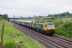 90042 1M16 Acton Bridge (cmc_1987) Tags: 90042 freightliner geneseewyoming class90 brel br britishrail actonbridge acelectric caledoniansleeper serco gbrf 1m16
