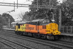 Colas Rail Freight 37219 (Mike McNiven) Tags: colas railfreight colasrail loco locomotive diesel derby levenshulme trafford traffordpark