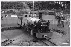 IMGP0637 (Steve Guess) Tags: riverirt northernrock steam engine loco locomotive turntable ravenglass eskdale light railway 15inch 460mm narrow gauge minimum cumbria england gb uk laal ratty re
