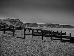 164/365 (Charlie Little) Tags: cumbria seascape coast solwaycoast solwayfirth p365 project365 huaweip20pro blackandwhite mono bw cameraphone mobilephotography