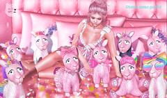 MadPea Pet Friends Fair - Candy Kitten! (MadPea Productions) Tags: madpea productions madpeas pet friends fair event decor decoration llamas cute kawaii sponsor sponsors pink cuddly pets