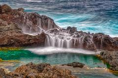 Washed over (Daniel.Peter) Tags: brandung canaryislands kanarischeinseln spain spanien tenerife teneriffa dpe3x surf rockpool