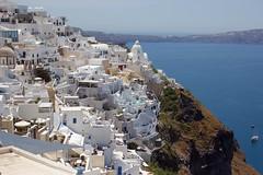 Greece (Bob Bain1) Tags: greece island santorini aegean travel house white sea oia