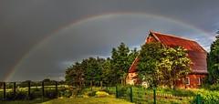 Regenbogen (petra.foto busy busy busy) Tags: fotopetra 5dmarkiii canon regenbogen schleswigholstein germany regenwetter wetter outside nature