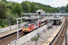 20190611 037 Oakleigh Park. 43299 (43099) 1W96 12.00 King's Cross - Inverness (15038) Tags: railways trains br britishrail intercity125 class253 class254 diesel hst powercar oakleighpark 43299 43099