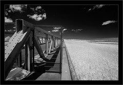 Darß, North East Germany (Dierk Topp) Tags: 850nm a7r bw daes ilce7r ir sony1635mmvariotessartfef4zaoss sonya7rir clouds infrared monochrom sw sony zingst