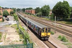 20190611 009 Oakleigh Park. 313037 Leads, 313041 At Rear Of 2V57 11.20 Moorgate - Welwyn Garden City (15038) Tags: railways trains br britishrail electric emu class313 oakleighpark 313041