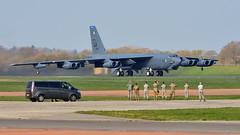 Boeing B-52H 'Aero 83' I 60-0058/LA I 20th BS 'Buccaneers', 2nd BW USAF Barksdale (MarkYoud) Tags: b52h soverign skies raf fairford aero 2nd bw usaf barksdale 20th bs buccaneers buff