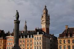 Grand Place (RW-V) Tags: canoneos70d canonefs35mmf28macroisstm rijsel lille nordpasdecalais hautsdefrance france frankreich frankrijk grandplace laplacedugénéraldegaulle columnofthegoddess sooc 225faves