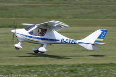 G-CTEE - 2007 build Flight Design CTSW,  departing from Runway 26L at Barton (egcc) Tags: 070213 8269 barton ctsw cityairport clegg egcb flightdesign gcleg gctee lightroom manchester microlight pmaviation