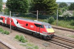 20190611 005 Oakleigh Park. BR Mark 4 DVT 82220 Rear Of 1D12 11.33 King's Cross - Leeds (15038) Tags: railways trains br britishrail mark4 carriage dvt oakleighpark 82220