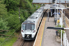 20190611 025 Oakleigh Park. 717003 Arrives 2K66 11.39 Welwyn Garden City - Moorgate (15038) Tags: railways trains br britishrail electric emu desirocity class717 oakleighpark 717003