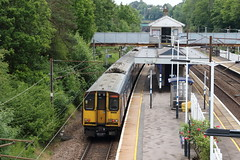 20190611 014 Oakleigh Park. 313036 At Rear Of 2K64 11.28 Welwyn Garden City - Moorgate (15038) Tags: railways trains br britishrail electric emu class313 oakleighpark 313036
