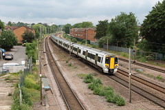 20190611 016 Oakleigh Park. 387117 Leading 387114 Trailing 1T26 11.42 King's Cross - Kings Lynn (15038) Tags: railways trains br britishrail electric emu class387 electrostar oakleighpark 387114