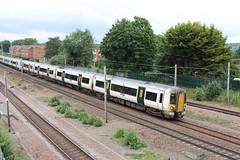 20190611 017 Oakleigh Park. 387106 And 387107 1T23 10.47 Ely - King's Cross (15038) Tags: railways trains br britishrail electric emu class387 electrostar oakleighpark 387106