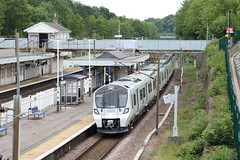 20190611 029 Oakleigh Park. 717006 2V59 11.48 Hornsey (vice Moorgate) - Welwyn Garden City (15038) Tags: railways trains br britishrail electric emu desirocity class717 oakleighpark 717006