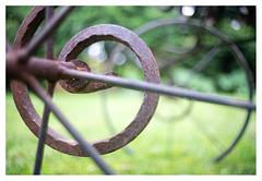 Spiral and circle (leo.roos) Tags: lens a7 zweden madeinjapan darosa helios2828 leoroos swedengotlandspring2019 wheel garden circle spiral ben m42 tuin birgitt roest wiel rusr heliosautowideangle128f28mm