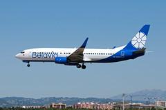 EW-455PA_20190602_BCN_50735_M (Black Labrador13) Tags: ew455pa boeing 737 b737 737800 7378zm belavia bcn lebl avion plane aircraft vliegtuig airliners civil